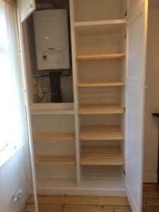 Boiler and Linen Cupboard